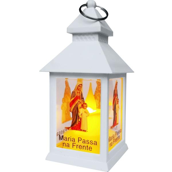 Luminária a LED Com chama Eletrônica Maria Passa na Frente