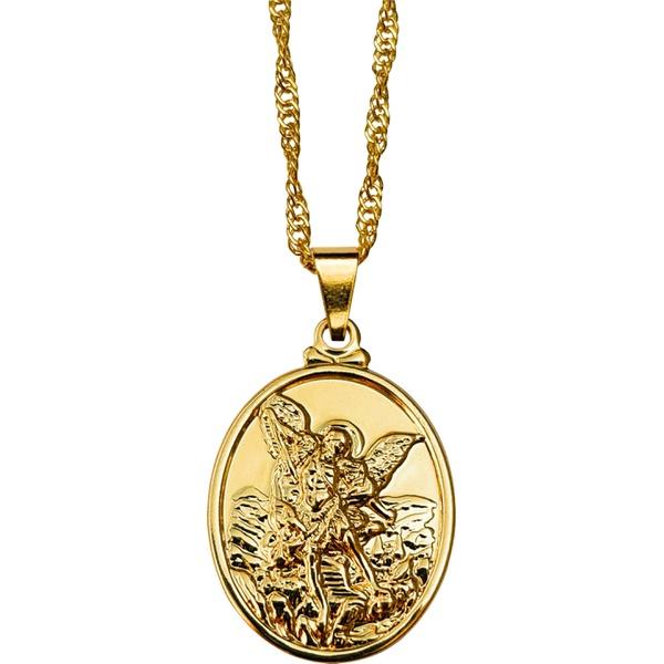 Gargantilha Folhada à Ouro São Miguel