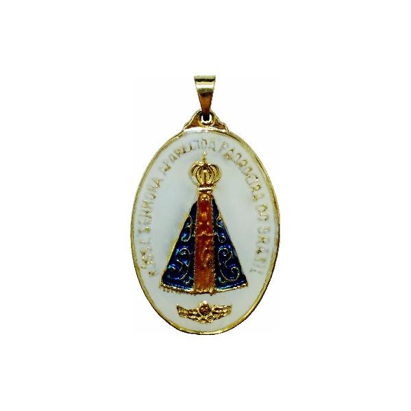 Medalha de Nossa Senhora Aparecida Resinada