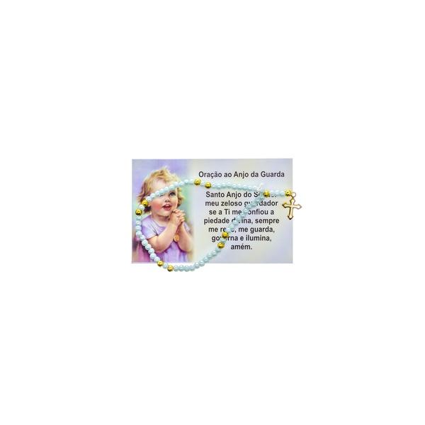 Terço Pulso Infantil com Oração