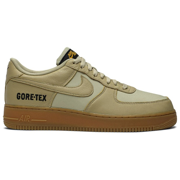 Tênis Nike Air Force 1low X Gore-tex Gold