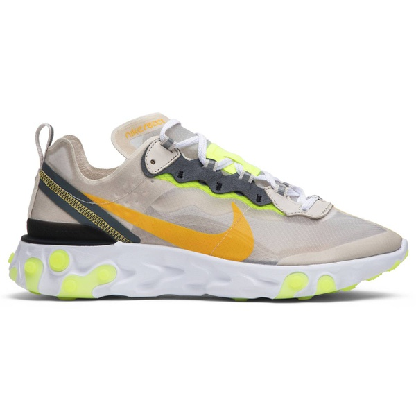 Tênis Nike React Element 87 Light Orewood