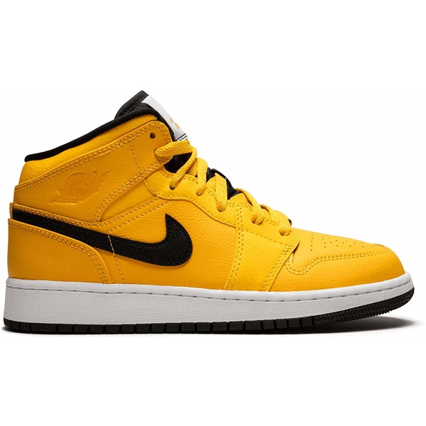 Tênis Nike Air Jordan 1 Mid Taxi Yellow