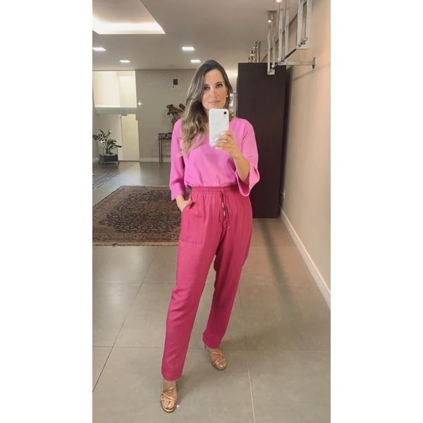 Calça Pijama Lisa