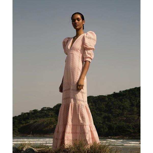 Vestido Laise Rosê Quartzo