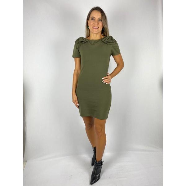 Vestido Tubinho Verde Militar