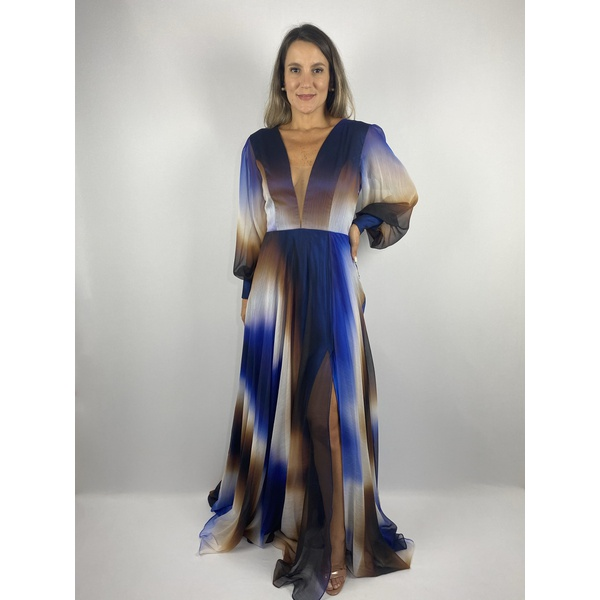 Vestido Aurora Azul