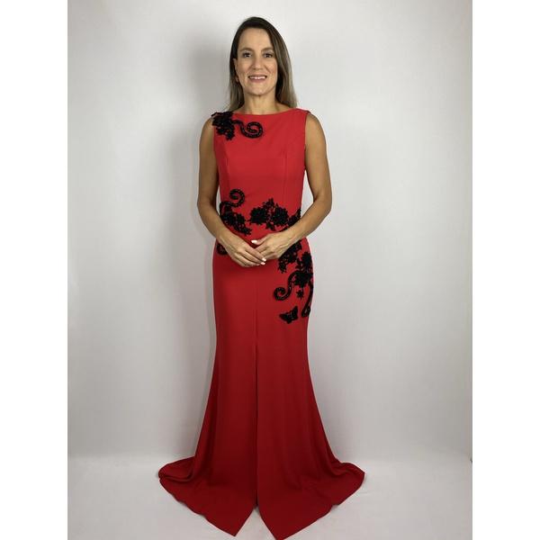 Vestido Red e Black