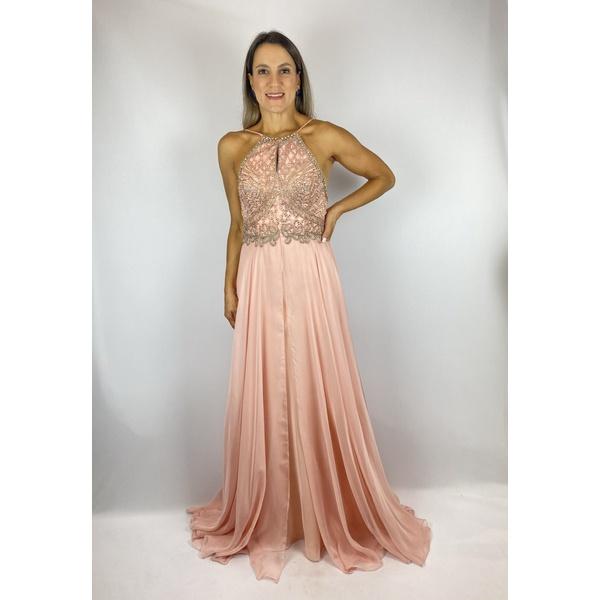 Vestido Frente Única Rose