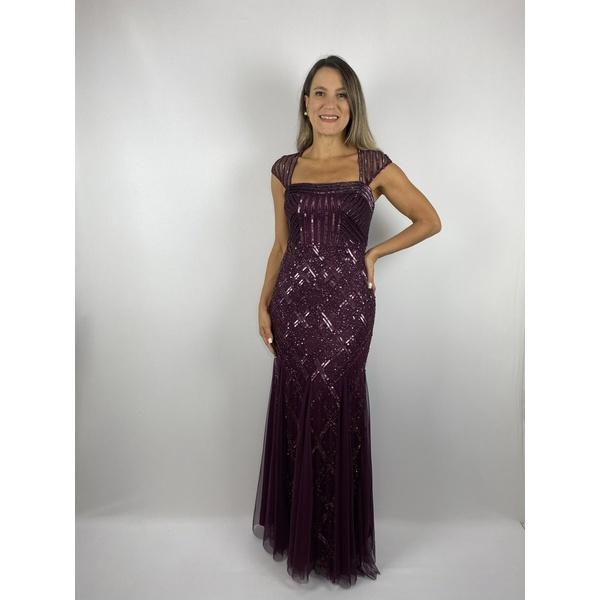 Vestido Natalie Uva
