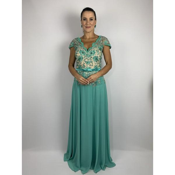 Vestido Princess Beltnot Acqua