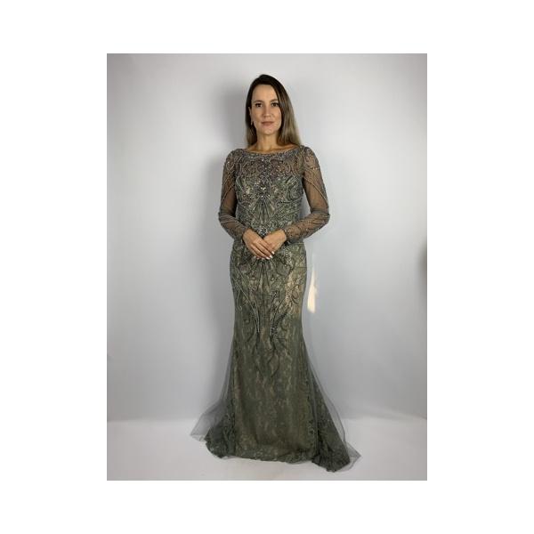 Vestido Renda+Guipir Jumbo