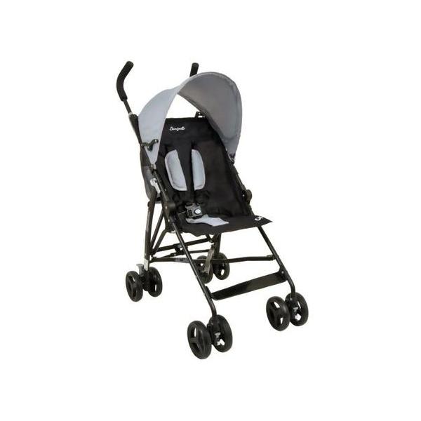 Carrinho de Bebê Guarda-Chuva Burigotto - OI Gray Black