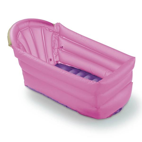 Banheira Inflável Bath Buddy Multikids - Rosa