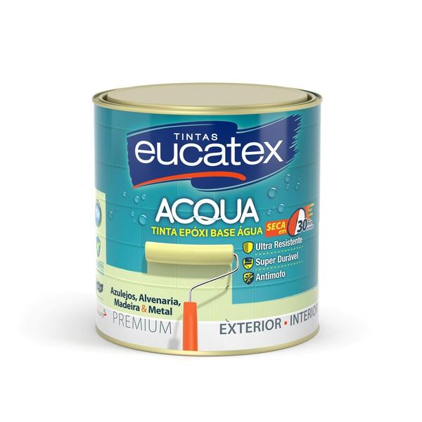 ESMALTE EPOXY BASE ÁGUA BRILHANTE BRANCO 0,9L
