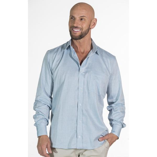 Camisa Xadrez Social Manga Longa Masculina Pietro
