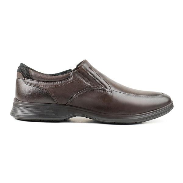 Sapato Social Pipper em Couro Pelica Capuccino