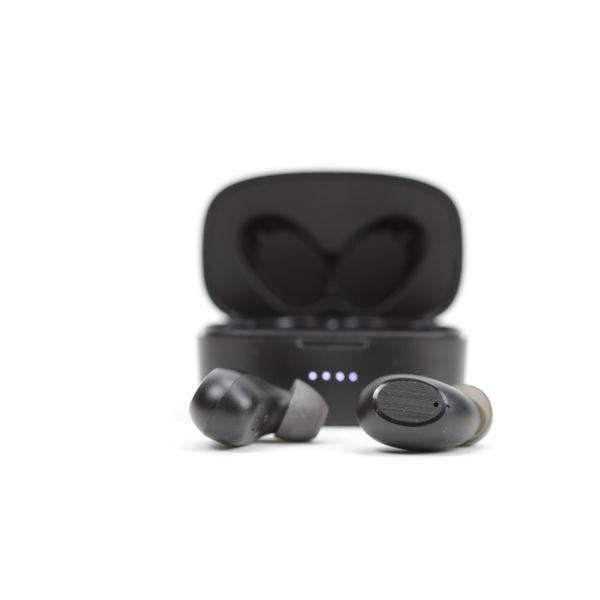 Fone de Ouvido Intra-Auriculares Sem Fio Bluetooth TWS Polyvox XH-10J Preto com Estojo