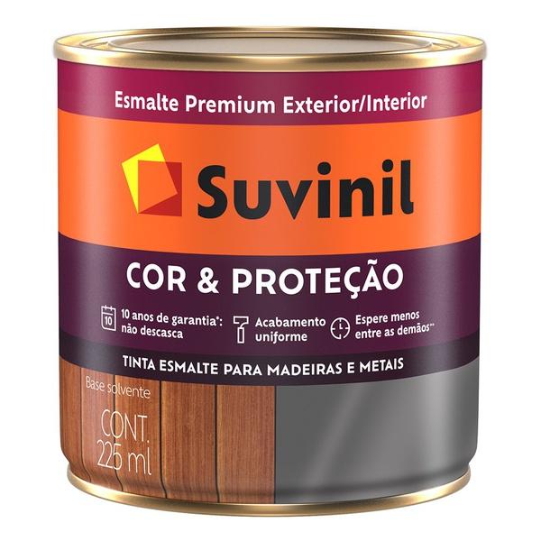 Esmalte Brilhante Suvinil Cinza Escuro 3,6L