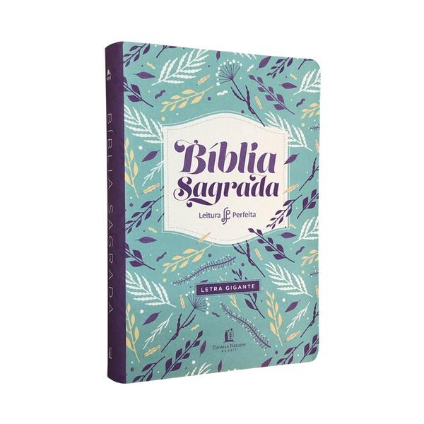Bíblia Leitura Perfeita NVI   Letra Gigante   Raminhos