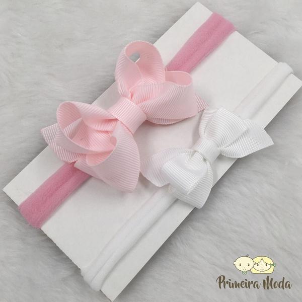 Kit Faixa para bebê Duplo Boutique