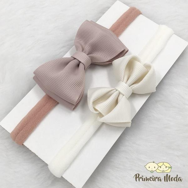 Kit Faixa para bebê Duplo Docinho