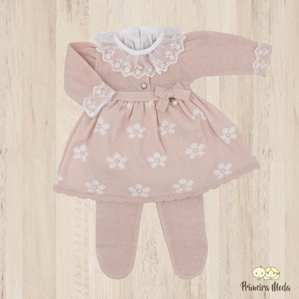 Vestido de Tricot Sophia Rosa