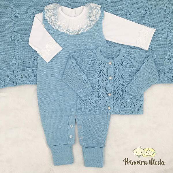 Saída De Maternidade Helena Azul