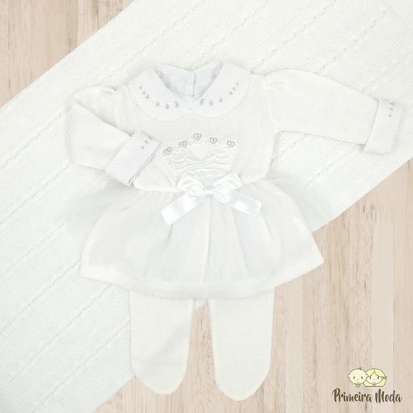 Saída de Maternidade Princesa Branco