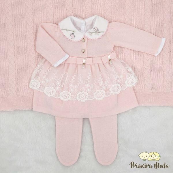 Saída De Maternidade Raika Rosa Bebê