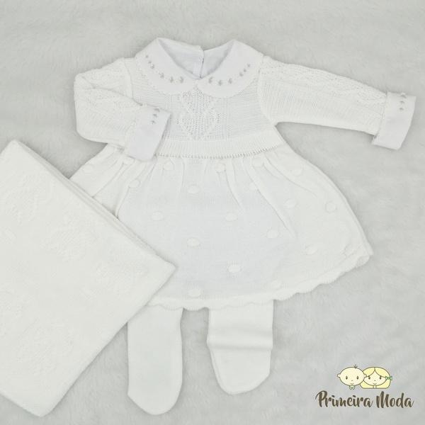 Saída De Maternidade Antonela Branca