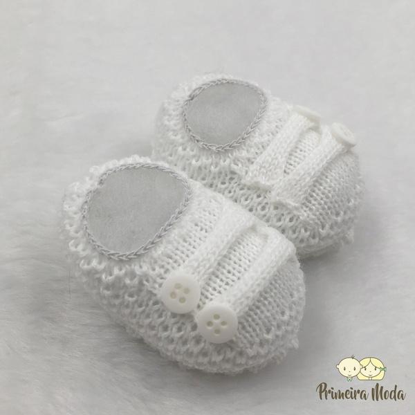 Sapatinho De Tricot Octavio Branco