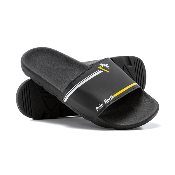 Chinelo Masculino Polo North Slide Preto