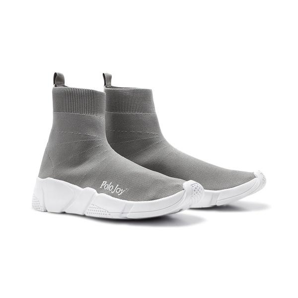 Tênis Meia Polo Joy Socks Cinza