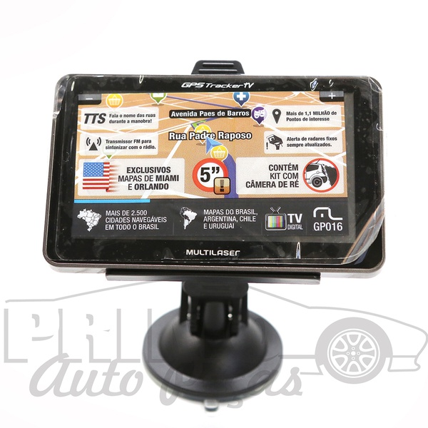 GP016 GPS NAVEGADOR Compativel com as pecas GP037