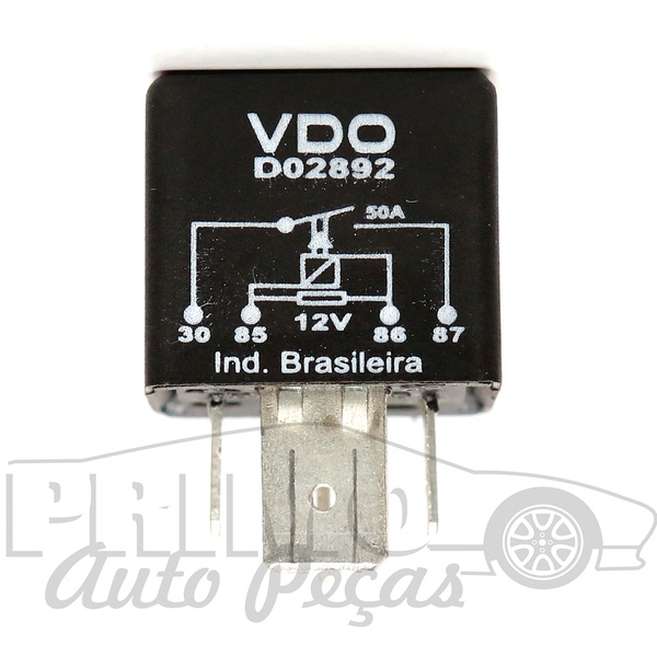 D2892 RELE AUXILIAR VW Compativel com as pecas DNI0104 HL3527