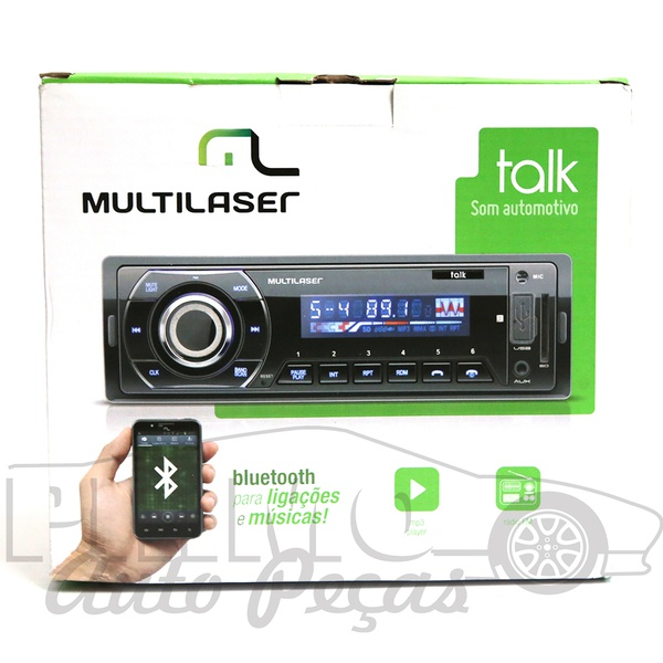 P3324 SOM MULTILASER C/ BLUETOOTH