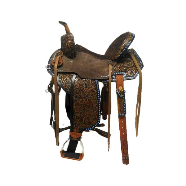 Sela de Couro Tambor - 13 Forma Protec Horse