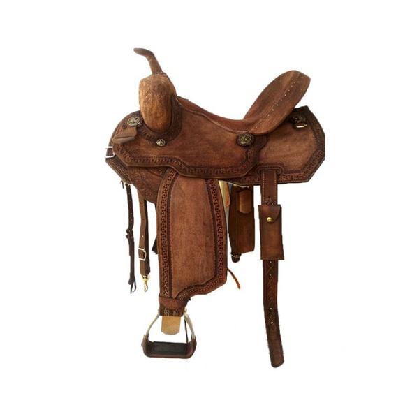 Sela de Couro Tambor - 33 Forma Protec Horse