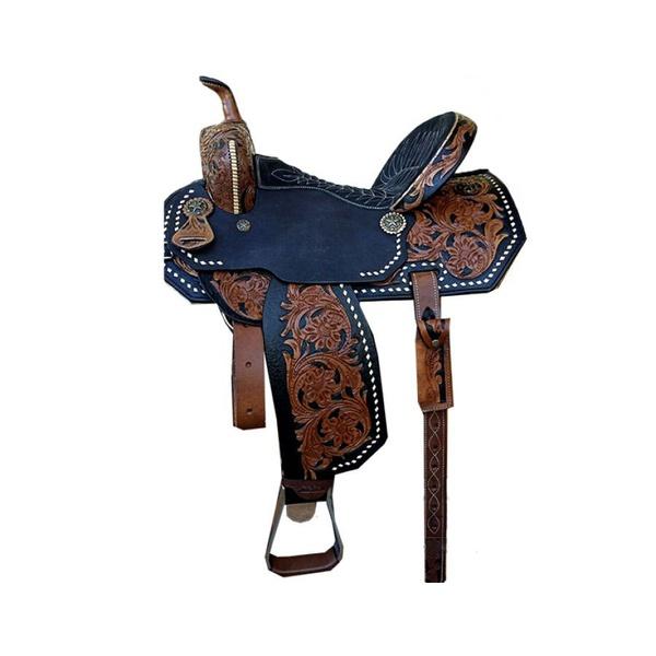 Sela de Couro Tambor - 47 Forma Protec Horse