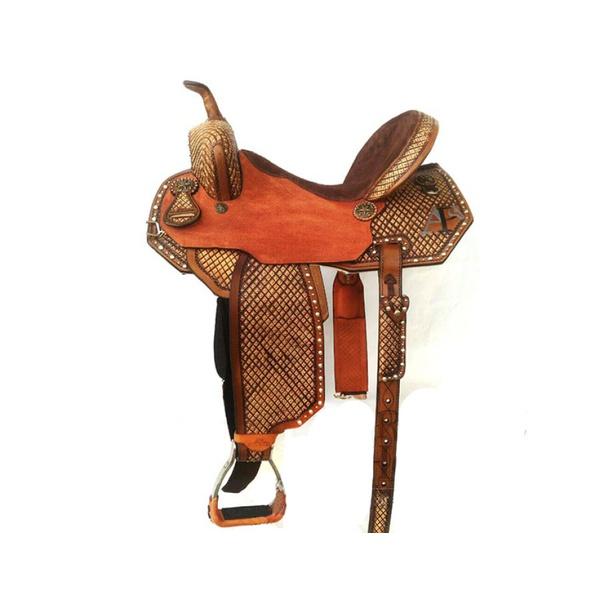 Sela de Couro Tambor - 58 Forma Protec Horse