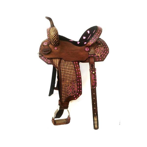 Sela de Couro Tambor - 60 Forma Protec Horse
