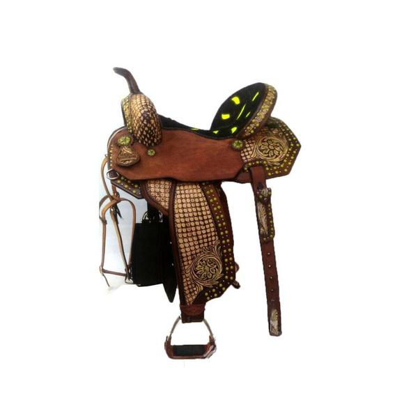 Sela de Couro Tambor - 61 Forma Protec Horse