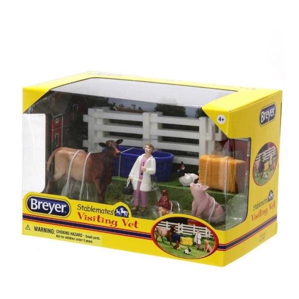 Brinquedo Kit Visitando o veterinário - Breyer
