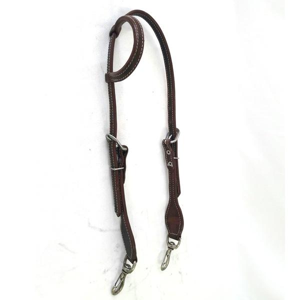 Cabecada Protec Horse 1 Orelha Couro - com mosquetão