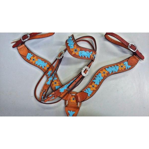 Conjunto Cabecada e Peiteira - Master Saddles 06