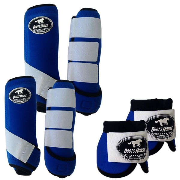 Kit Completo Boots Horse Color Cloche e Boleteira Dianteira e Traseira - Colorido 01
