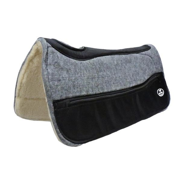 Manta Boots Horse Flex Chip Tambor Quadrada - Peso - Pelego