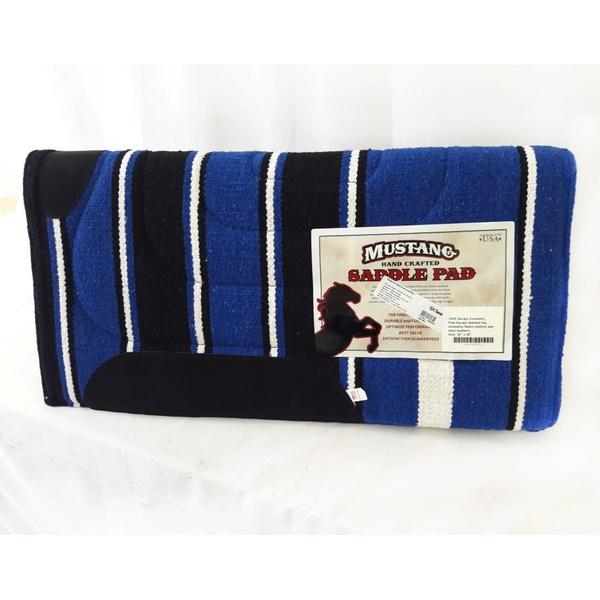 Manta Mustang Simples Importada - Azul Royal