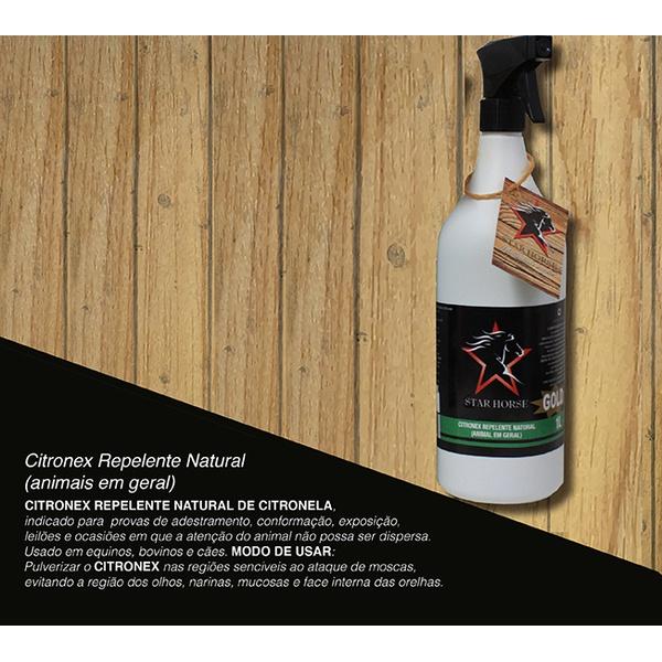 Repelente Citronex Natural 1LT - Star Horse